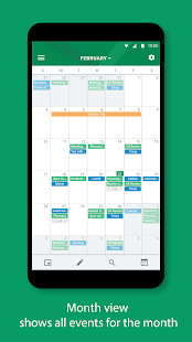 Calendario de BlackBerry Hub+ Screenshot