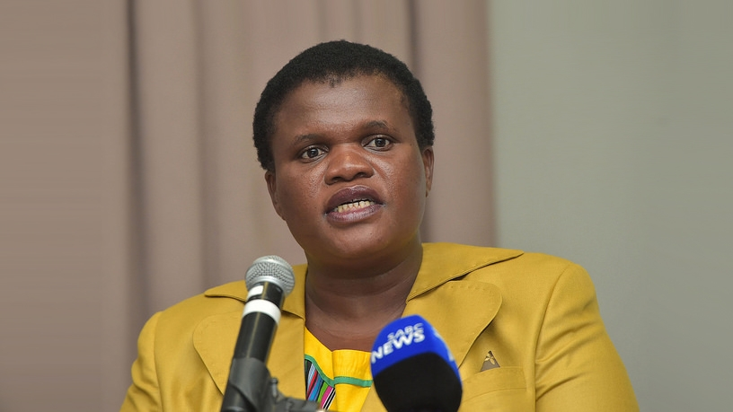 Faith Muthambi will chair the Co-operative Governance and Traditional Affairs Portfolio Committee in Parliament.