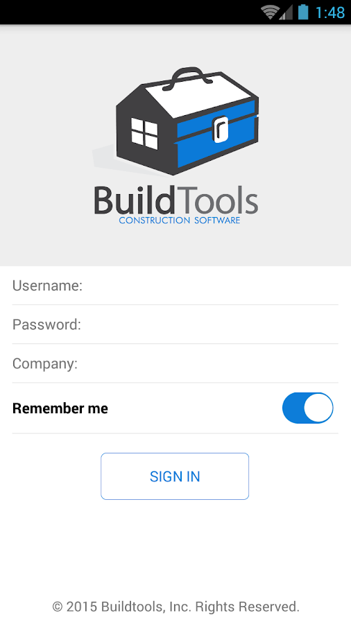 Buildtools- screenshot