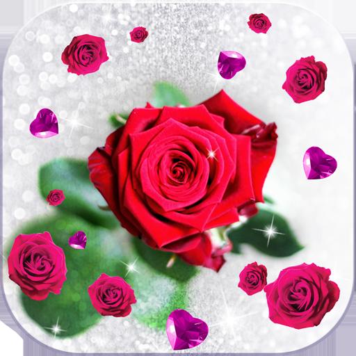 App Insights Rose Moving Wallpaper Glitter Apptopia