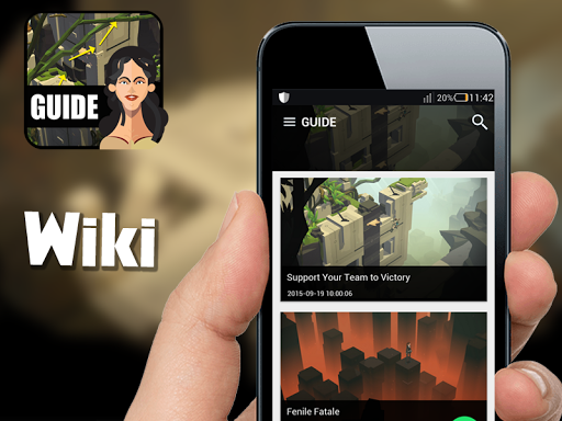 Guide for Lara Croft GO