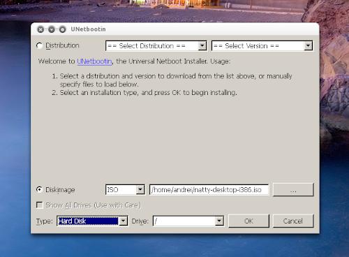Unetbootin boot Grub2 ISO