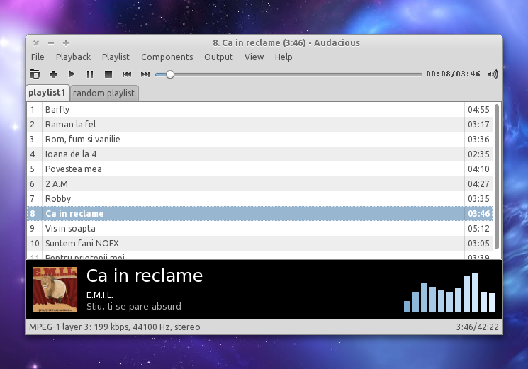 Install Audacious 2 4 4 (Music Player With GTK And Winamp-Like