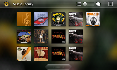 Android 3.0 music player