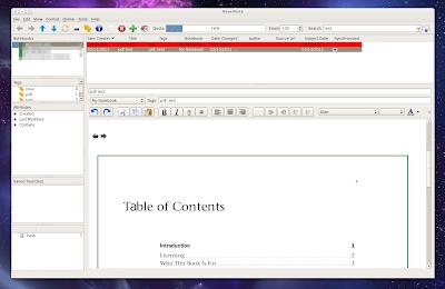 Nevernote - inline PDF