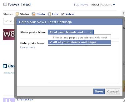 Facebook fix