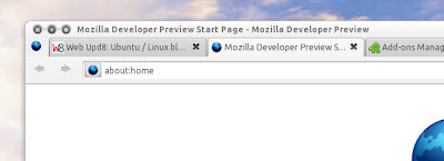 Firefox 4 menu icon