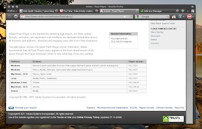 Chrome Flash in Firefox