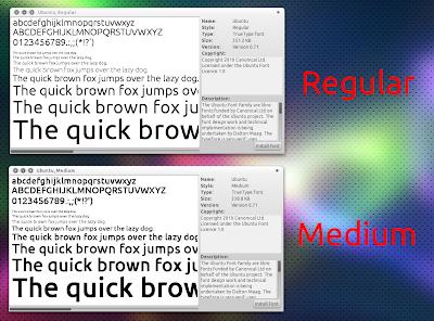 Ubuntu Medium Font
