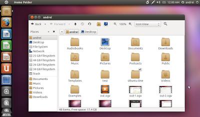 Faenza Ubuntu 11.04 Unity