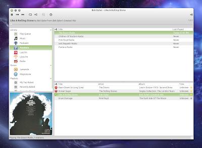 Rhythmbox 0.13.3 Pandora plugin
