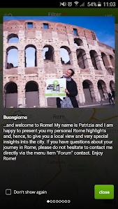 Rome (Roma) Travel Guide (Map) screenshot 0