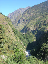 Photo: Marsyangdi river