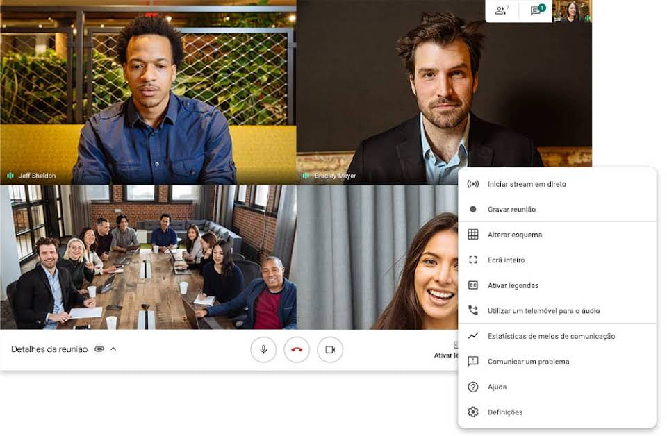 O que é o Google Meet?