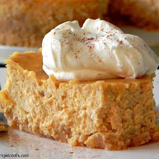 The Cheesecake Factory's Pumpkin Cheesecake