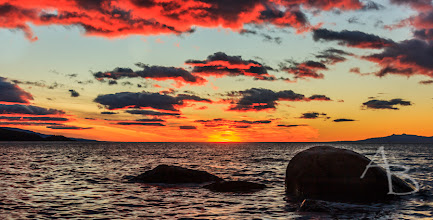 Photo: Red Clouds