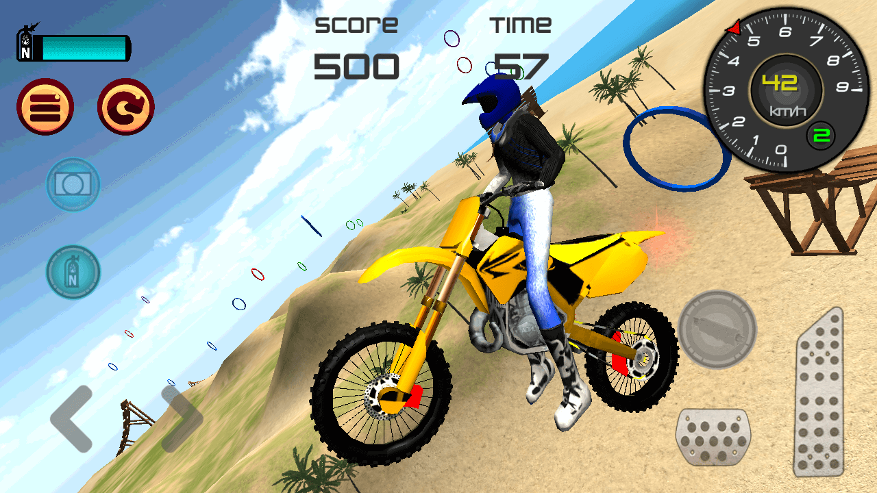 Motocross Beach Jumping 3D- screenshot