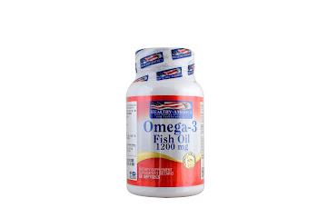 Solo Online Omega 3 Fish Oil 1200 Mg   Frasco x 60 Und