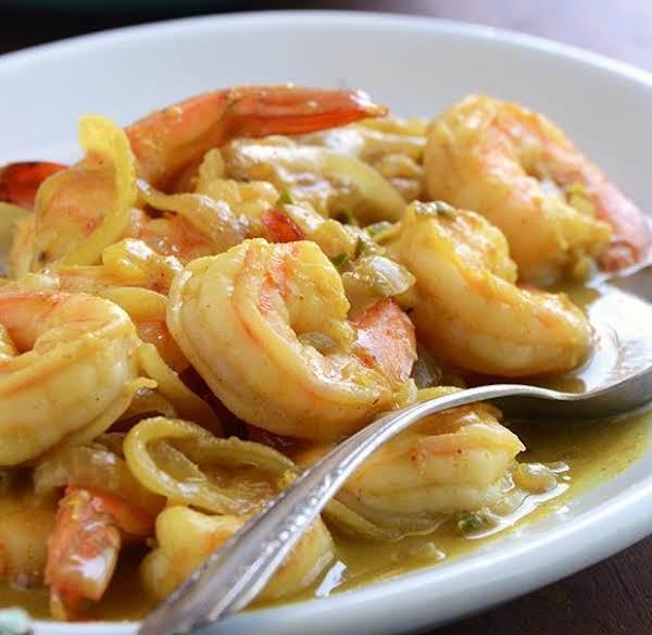 Thengai Konju Curry (coconut Tiger Prawn Curry) Recipe