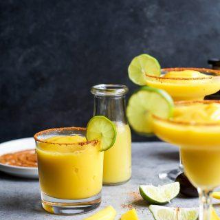 Frozen Mango Margarita.