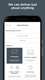 Zoom2u - Fast Courier Delivery- screenshot thumbnail