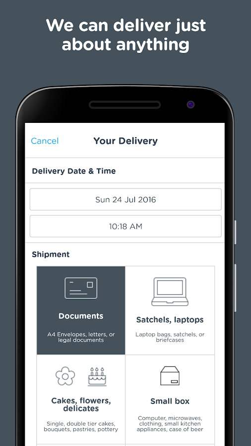 Zoom2u - Fast Courier Delivery- screenshot