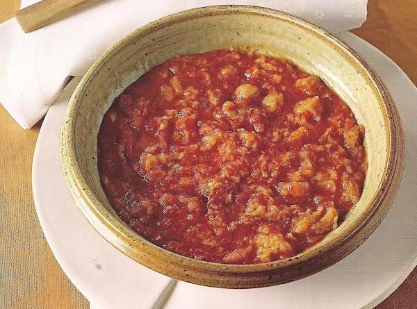 Pappa Al Pomodor (tomato And Bread Soup) Recipe
