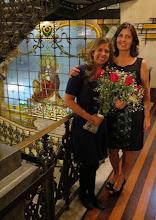 Photo: A Presidente ALpina com a Caroline Brito