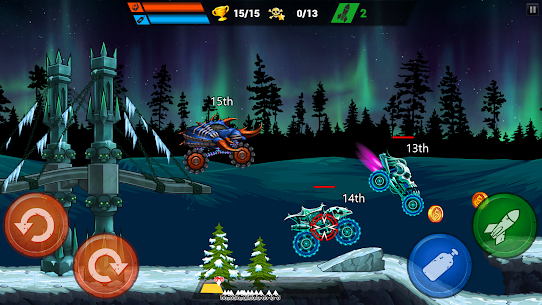 Mad Truck Challenge Mod Apk – Shooting Fun Race 3
