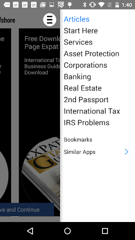 android Premier Offshore Tax & Busines Screenshot 2