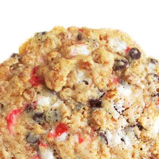 Corn Flake–Candy Cane Cookies.