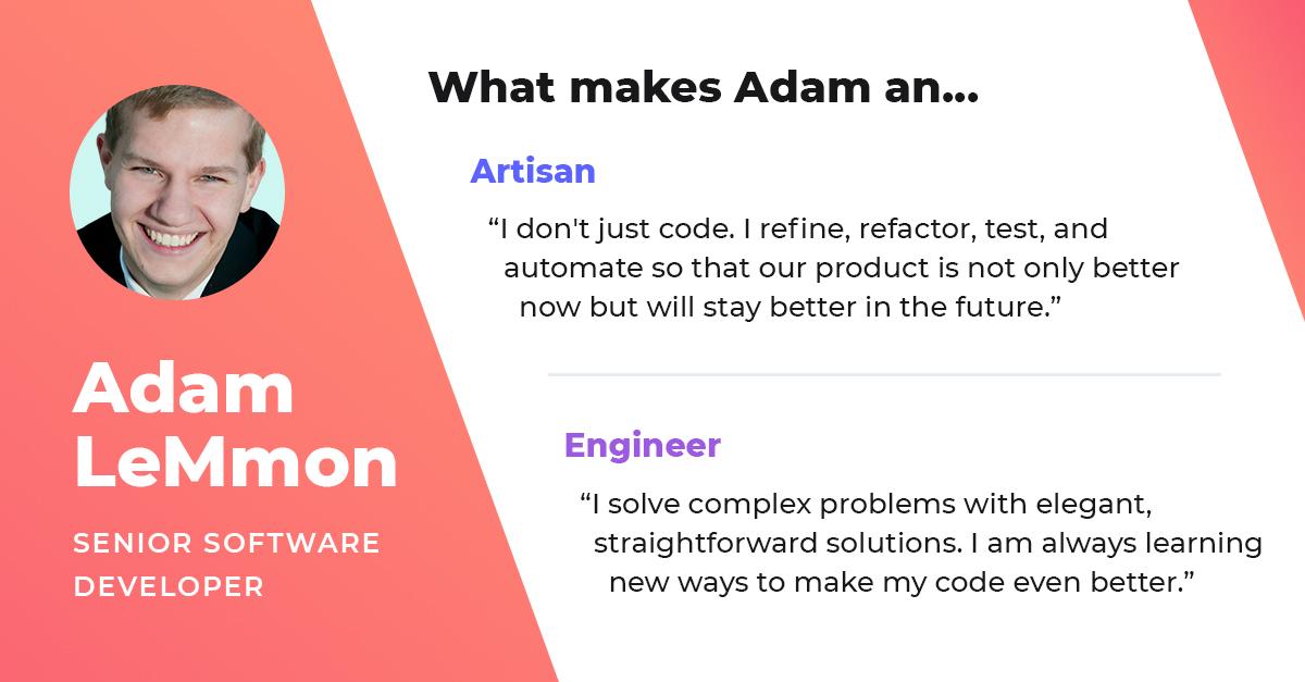 adam lemmon senior software developer