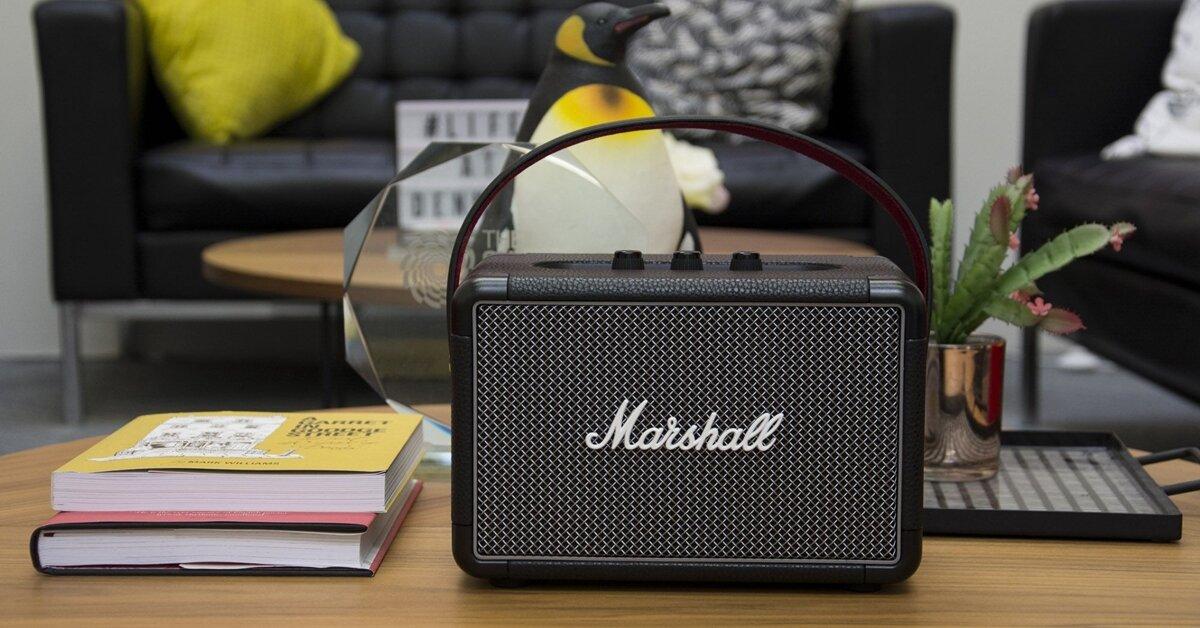 Review đánh giá loa Marshall Kilburn 2 - thiết bị âm thanh của thời đại 5