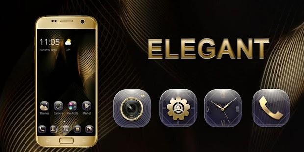 Elegant gold - náhled
