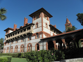 Photo: The Flagler College. It use to be a hotel.