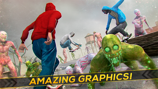 Skateboard Pro Zombie Run 3D 2.11.2 screenshots 8