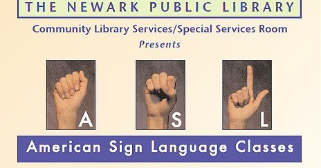Free Sign-Language Classes — on Saturdays | Newark USA