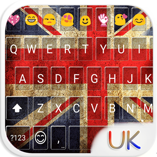 UK Keyboard Emoji Skin Icon