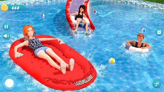 Water Park Racing Kids Aqua Park Water Slide Games 3