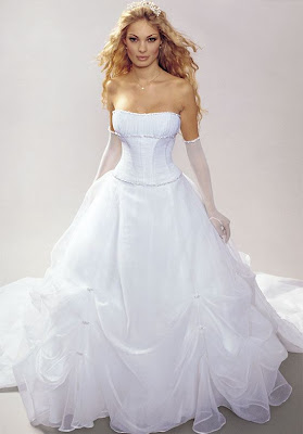 NEW White Wedding Dress Gown