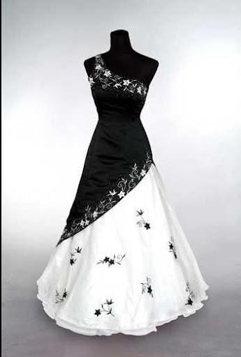 Black Bridal Gown