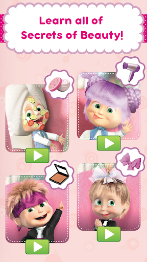 Masha and the Bear: Hair Salon and MakeUp Games  screenshots EasyGameCheats.pro 4