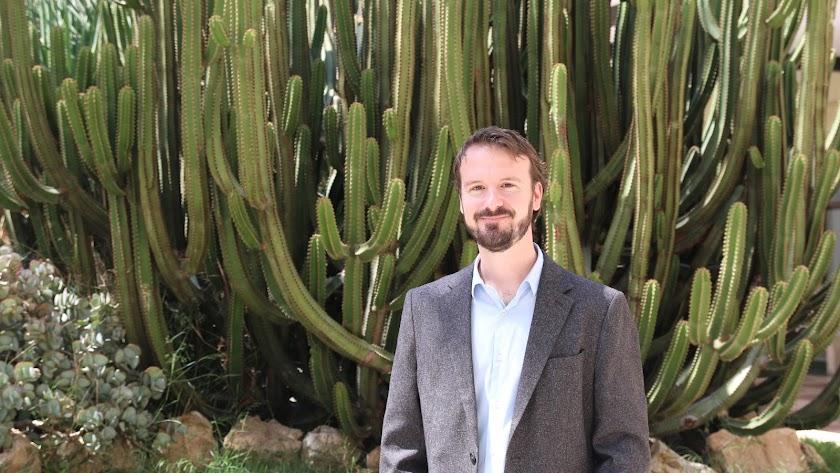 Moisés Espínola, en Almería