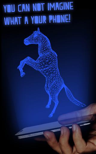Real Horse Hologram
