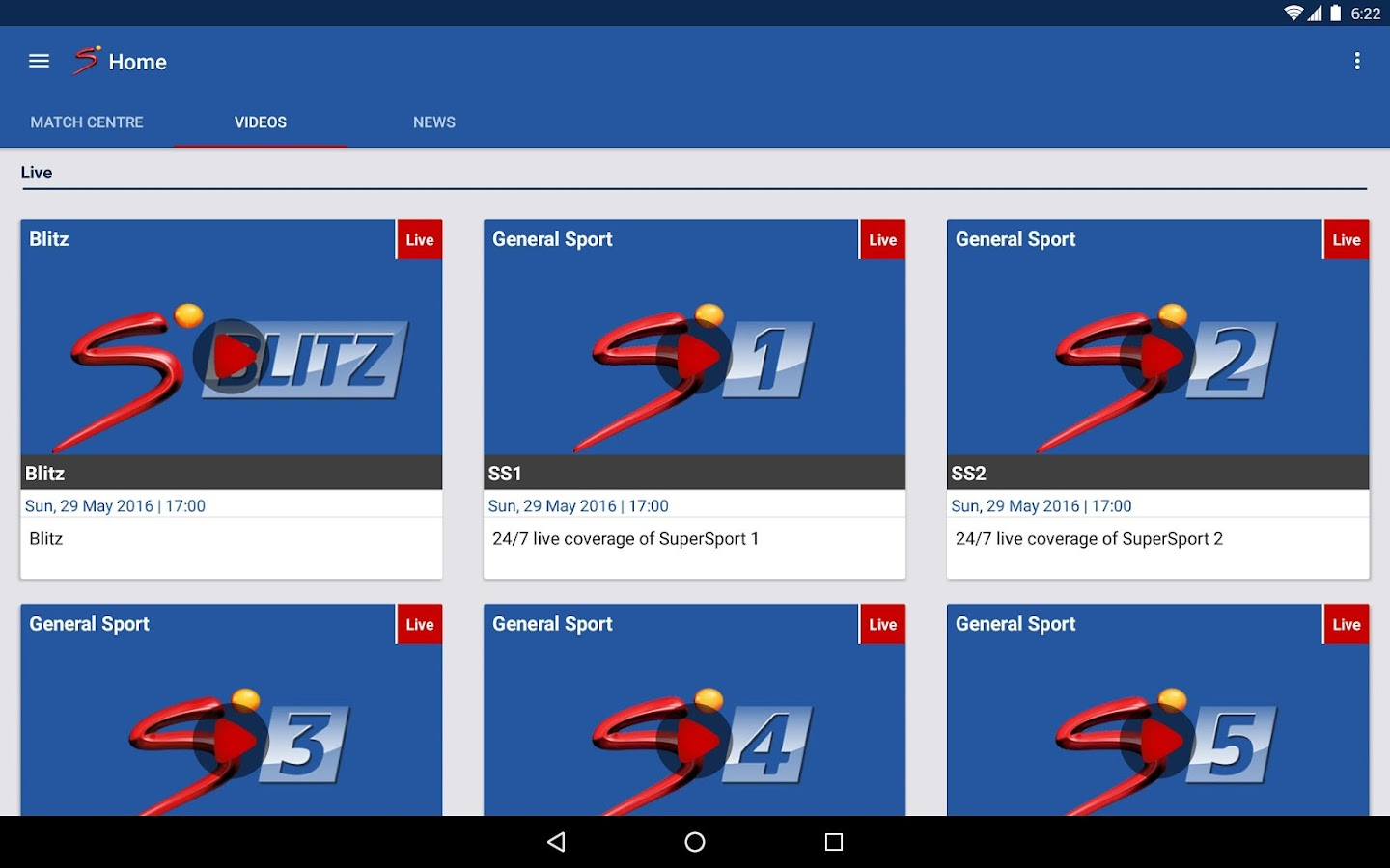 SuperSport- screenshot