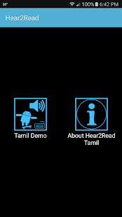 Hear2Read Tamil Text To Speech- screenshot thumbnail