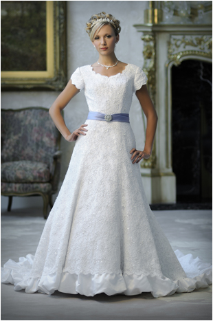 Modest Bridal Gowns Fashion