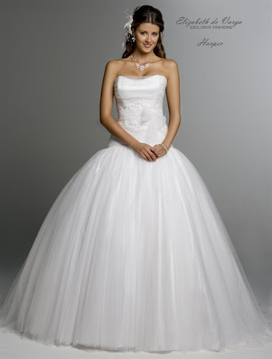 Pure White Wedding Dresses