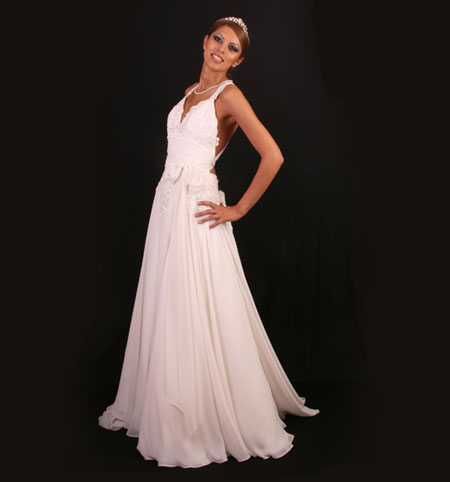 Emma ; Simple Wedding Dresses Gown