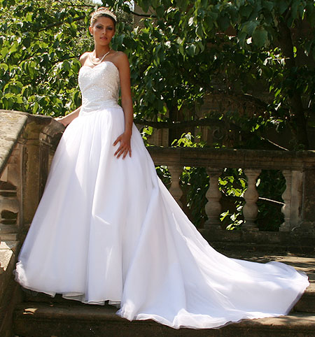 Rachel ; Destination Bridal Gown - Wedding Dresses